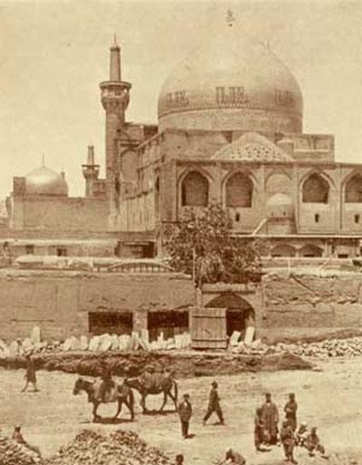 عکس قدیمی حرم امام رضا